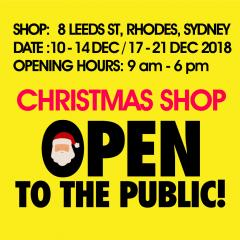 Christmas Shop Open