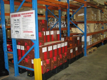 Inside our Sunshine West warehouse