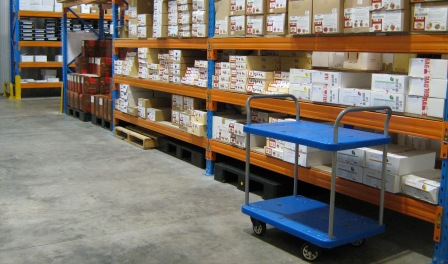 Inside our Sunshine West warehouse.