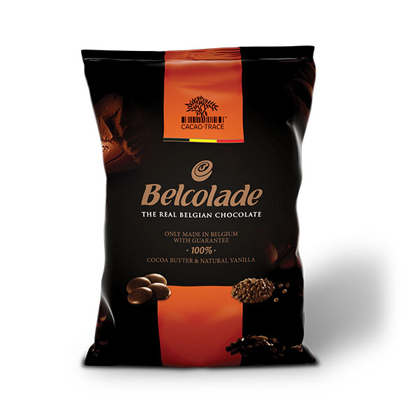 Belcolade Cacao Trace Drops Milk 34%