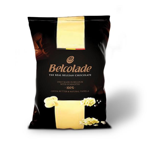 Belcolade Drops White