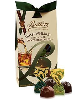 170g Butlers Chocolate Irish Wiskey Dark / Milk