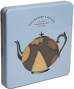 200g Biscuit Assortment in Square Tin