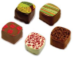 Chocolates with Print
