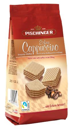 Wafer Biscuits with Cappuccino Cream