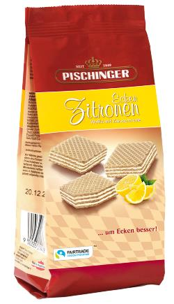 Wafer Biscuits with Lemon Cream