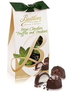170g Butlers Chocolate Mint and Fondants Dark