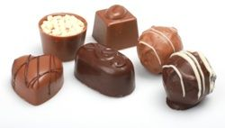 Chocolates Small and Truffles Round Enrobed Mix