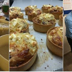 Pie Pot Quiche - Lincoln Bakery Training