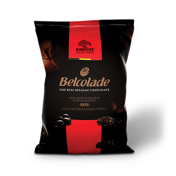 Belcolade Cacao Trace Drops Dark 55%