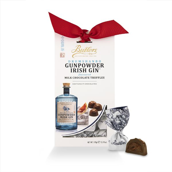 Twist Wrap Gunpowder Gin Milk