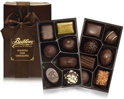 200g Dark Chocolate Ballotin Assorted