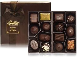 400g Dark Chocolate Ballotin Assorted