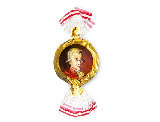 Chocolate Rounds Mozart Balls